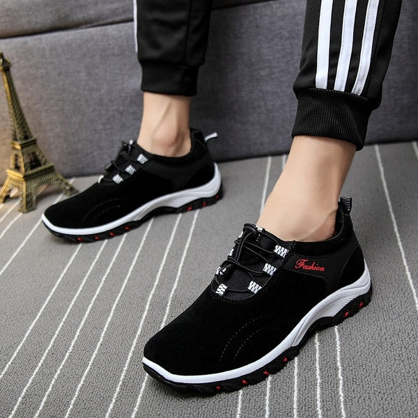 New sports shoes men's casual shoes hiking breathable mesh shoes