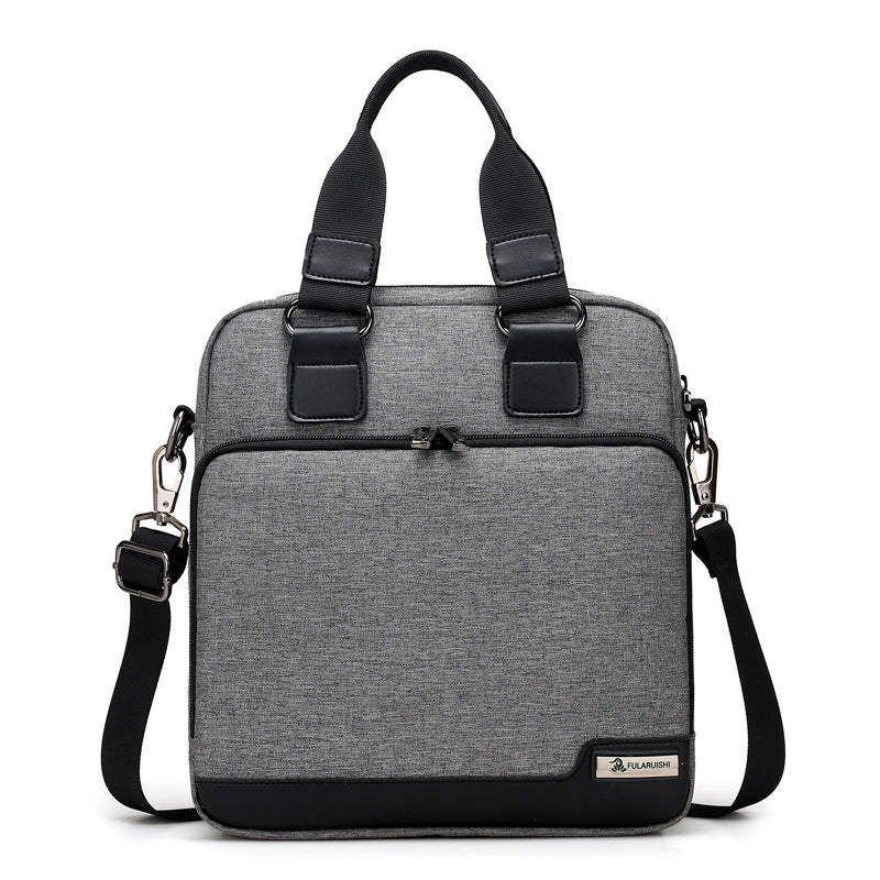 New casual simple fashion shoulder bag multi-function portable Messenger bag
