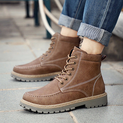 New 2019 men's retro high-top Martin boots