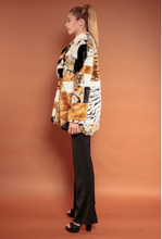 Load image into Gallery viewer, Faux Fur Safari Trench Coat