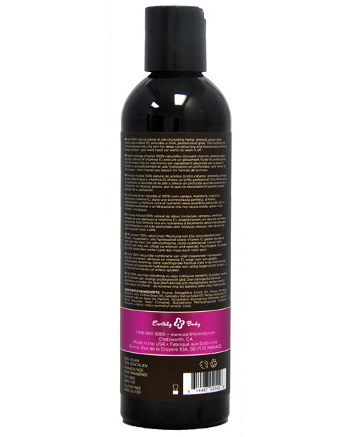 Earthly Body Massage & Body Oil - 8 Oz Skinny Dip