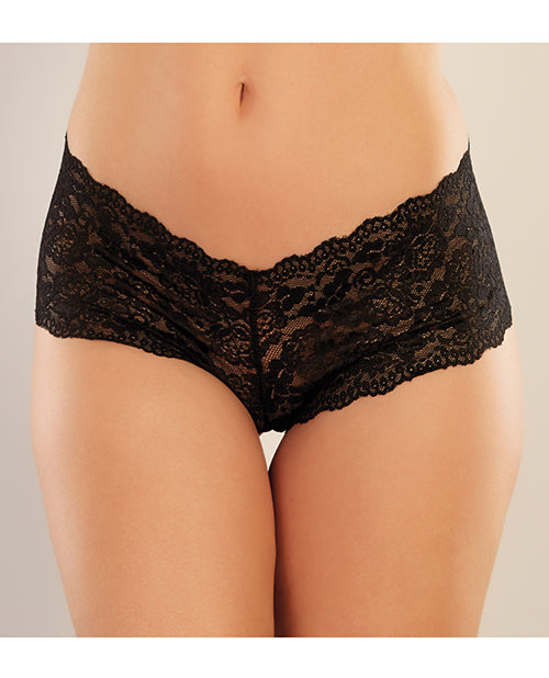 Adore Candy Apple Panty Black O-s