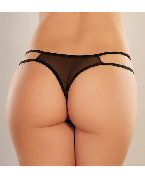Adore Sweet Honey Panty Black O-s