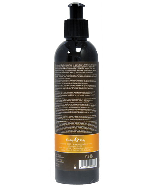 Earthly Body Hemp Seed Massage Lotion - 2 Oz Isle Of You