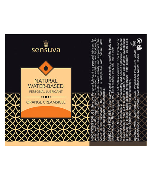 Sensuva Natural Water Based Personal Moisturizer - 4.23 Oz Apple Candy