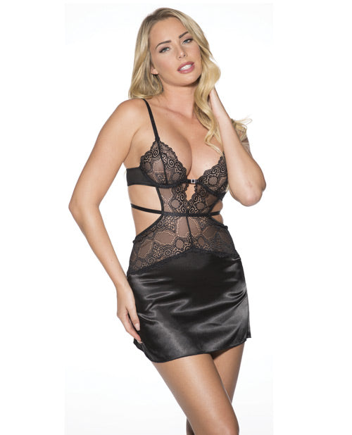 Lace Chemise W/g-string 2x