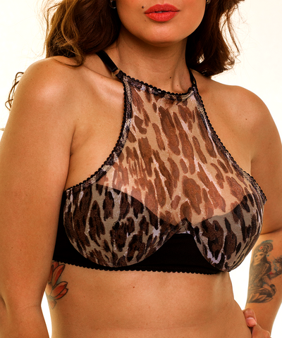 BRALETTE JUNE LEOPARDO