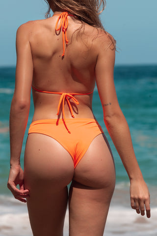 BOTTOM NAYARIT ORANGE BIKINI