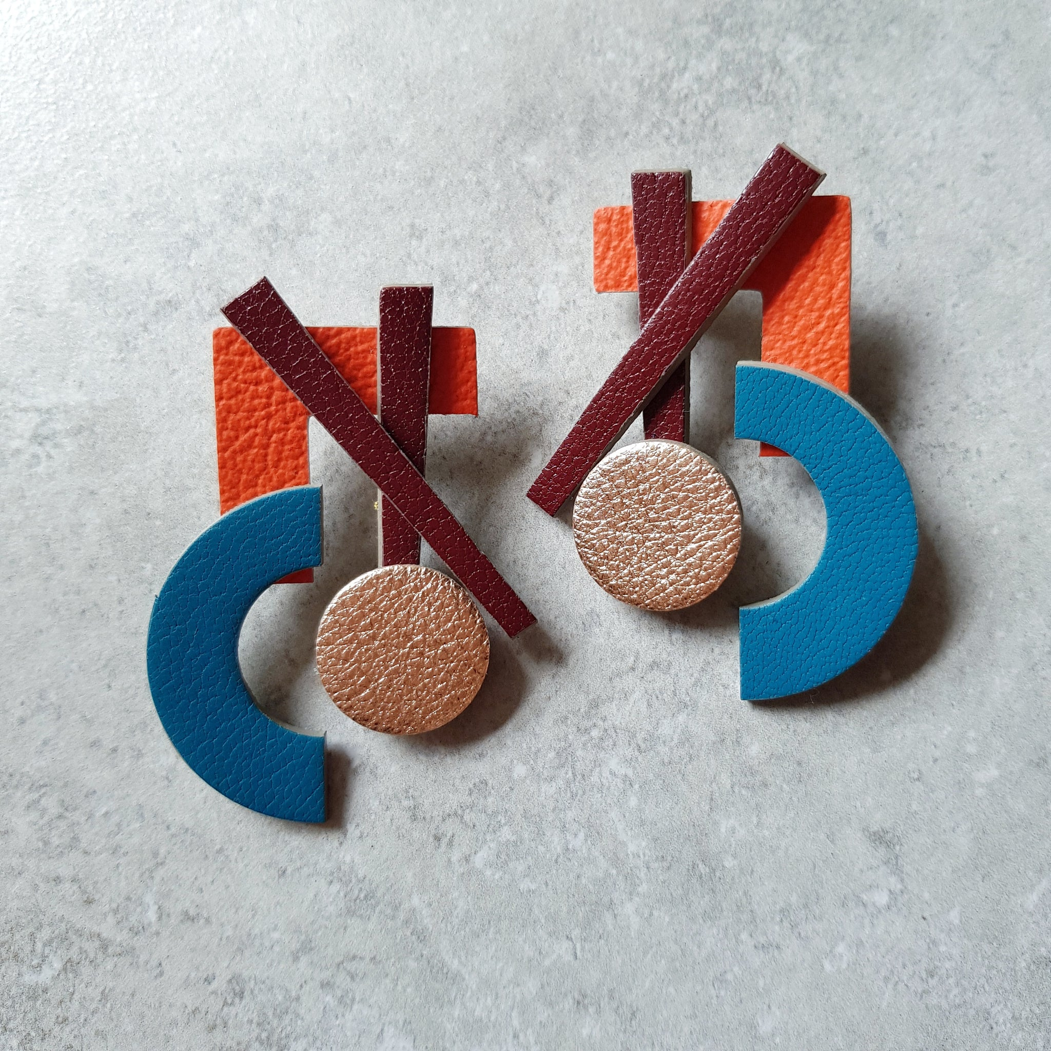 No. 5 Megastuds (TEAL)