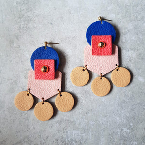 Tribal Earrings (PINK)