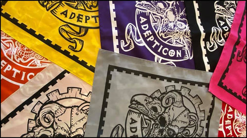 AdeptiCon 2020 Friendly Bandanas