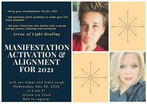 Manifestation Activation Workshop With Jen Huber & India Leigh