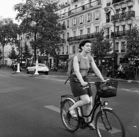 Parisian on Bike