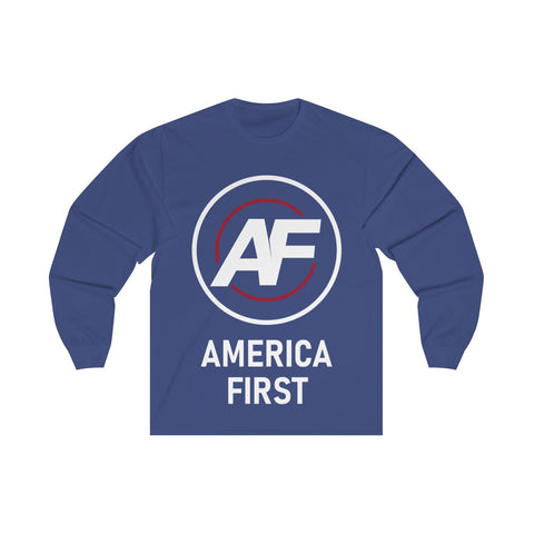 AMERICA FIRST PREMIUM LONG SLEEVE TEE