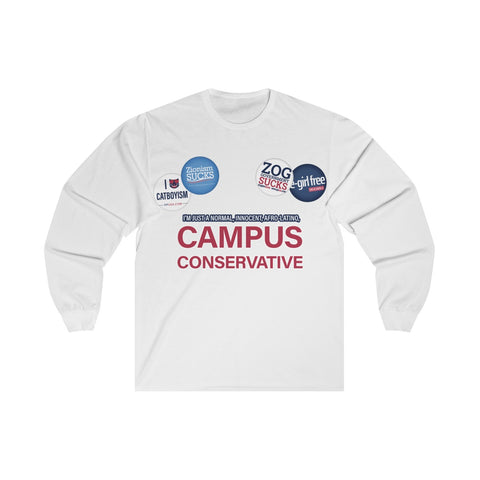 CAMPUS CONSERVATIVE LONG-SLEEVE TEE
