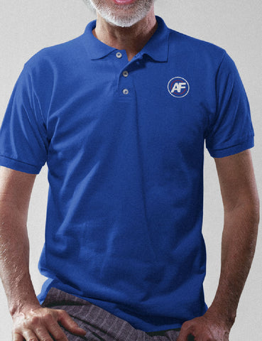 AMERICA FIRST EMBROIDERED POLO