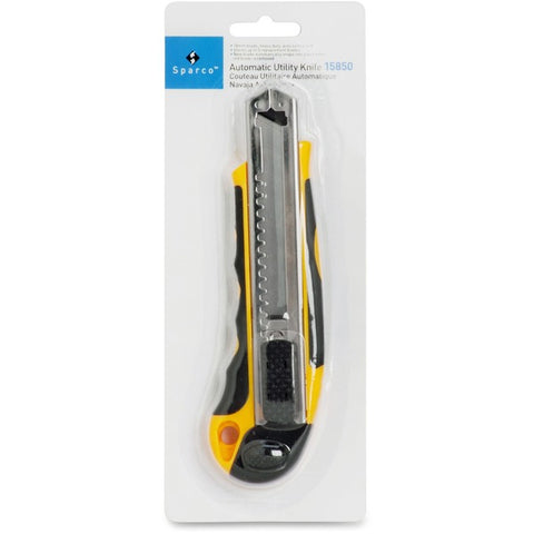 Sparco Products Automatic Utility Knife