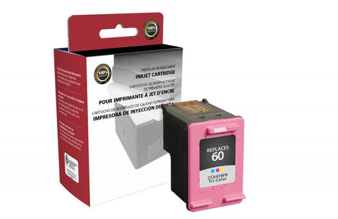 Clover Technologies Group, LLC Compatible Tri-Color Ink Cartridge for HP CC643WN (HP 60)