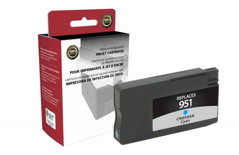 Clover Technologies Group, LLC Compatible Cyan Ink Cartridge for HP CN050AN (HP 951)