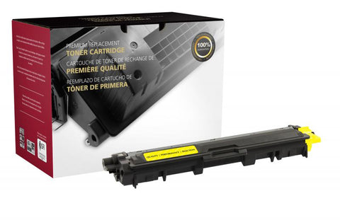 Clover Technologies Group, LLC Compatible Yellow Toner Cartridge for Brother TN221
