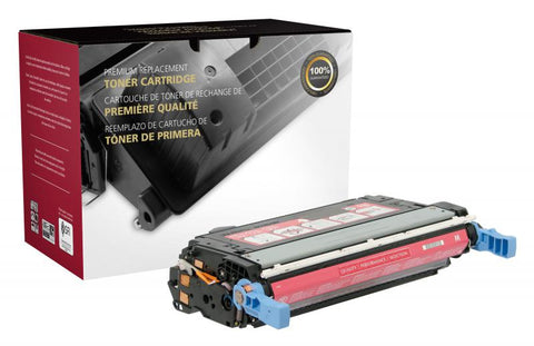 Clover Technologies Group, LLC CIG Compatible Magenta Toner Cartridge for Color LJ CP4005 (Alternative for HP CB403A 642A) (7500 Yield)