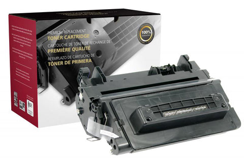 Clover Technologies Group, LLC CIG Compatible Extended Yield Toner Cartridge (Alternative for HP CE390A 90A) (18000 Yield)
