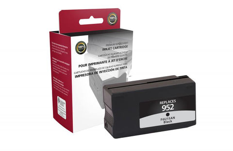 Clover Technologies Group, LLC Black Ink Cartridge for HP F6U15AN (HP 952)