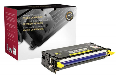 Clover Technologies Group, LLC CIG Compatible High Yield Yellow Toner Cartridge (Alternative for Xerox 106R01394) (5900 Yield)