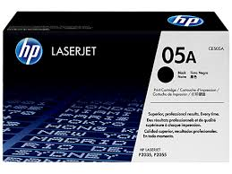 HP 05A (CE505A) LaserJet P2035 P2055 Black Original LaserJet Toner Cartridge (2300 Yield)