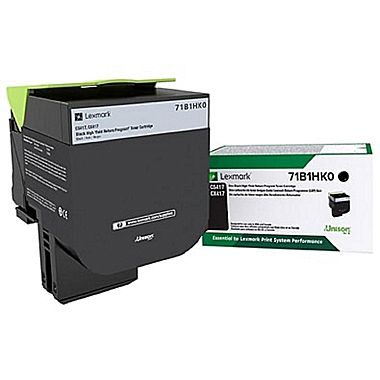 Lexmark Black High Yield Return Program Toner Cartridge (6000 Yield)
