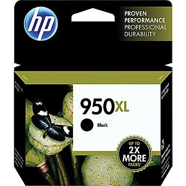 HP 950XL (CN045AN) High Yield Black Original Ink Cartridge (2300 Yield)