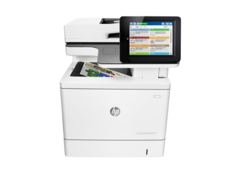 HP Recertified Color LaserJet Ent MFP M577f Printer