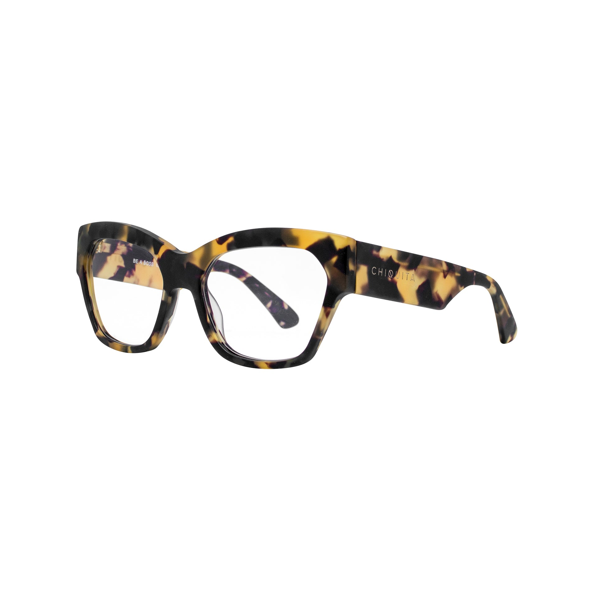 The BOSS Tortoiseshell - Blue Light Eyewear by Chiquita