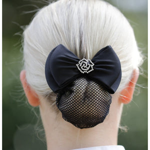 Huntington Rose Show Bow w/ Hair Net