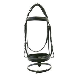 Jeremy and Lord Padded Snaffle Bridle