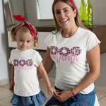 Kids Mini Dog Mama Organic Cotton T-shirt (3-14 years)