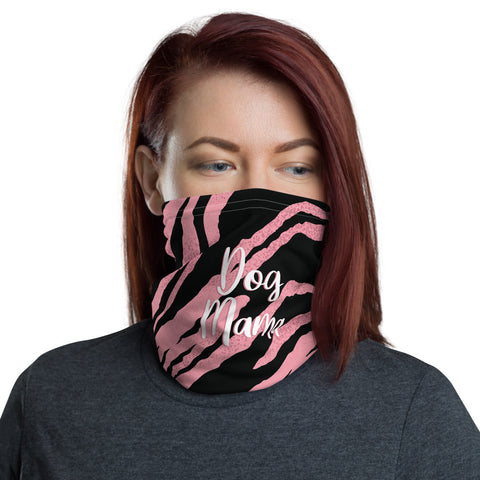 Dog Mama Face Shield - Tiger Print