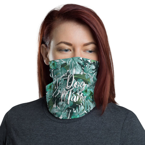Dog Mama Face Shield - Leaves