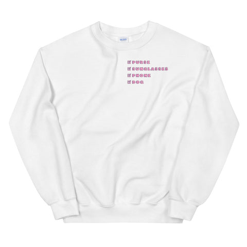 Essential Checklist Sweatshirt