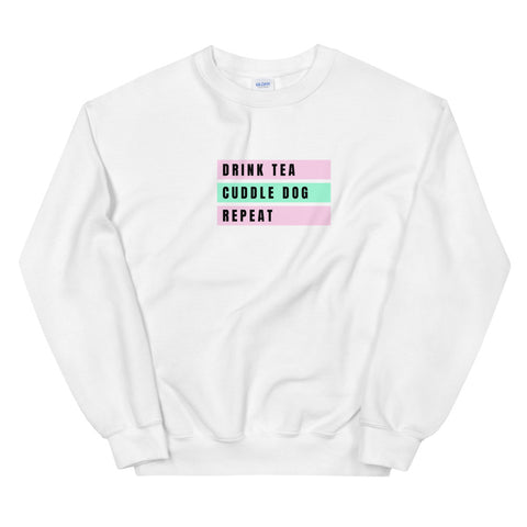 Tea, Cuddle, Repeat Bar Sweatshirt
