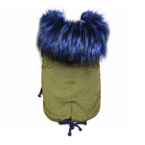 Luxury Faux Fur Fleece Lined Parka