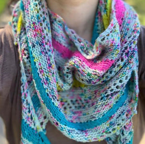 Load image into Gallery viewer, PJ Stripes Shawl Kit