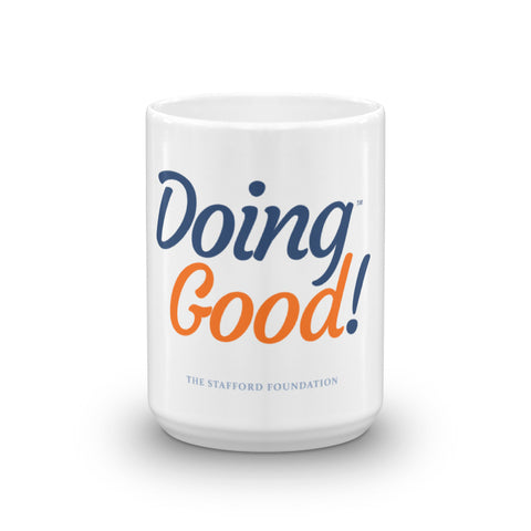 Doing Good Signature Mug