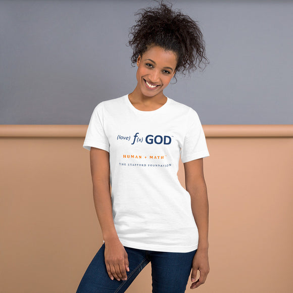 Human + Math | Love Function God Short-Sleeve Unisex T-Shirt