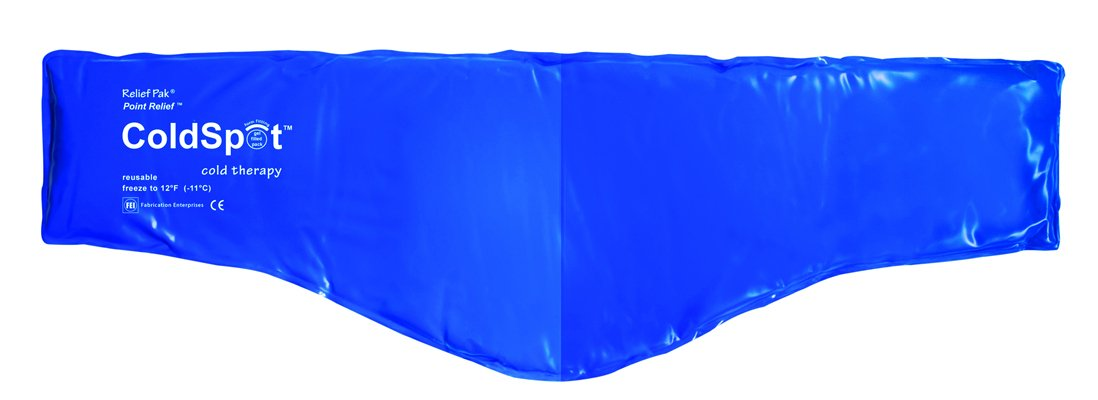 Relief Pak ColdSpot Blue Vinyl Pack - Neck Contour