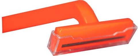 NWI-RAZ1  Single Blade Razor (orange handle)  (Box/100)