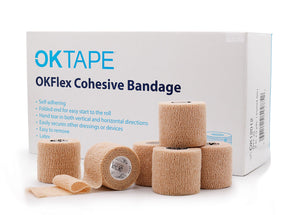 OKTape Flex Cohesive Bandage LATEX FREE