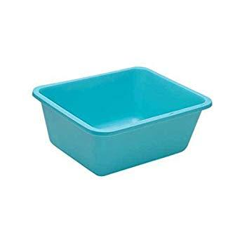 Wash Basin Rectangular, 7qt Aqua