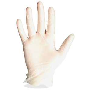 STRONG Vinyl Exam Gloves - 100 Per Box