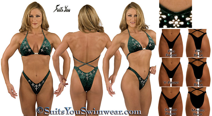 Figure Competition Suit or Physique Competition Suit #2035